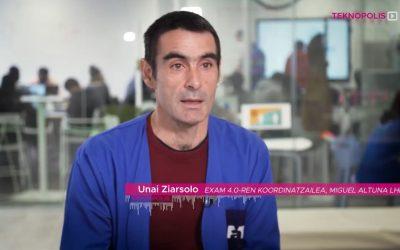 Conoce el Taller inteligente del centro Miguel Altuna y EXAM4.0 plataforma internacional en el programa Teknopolis